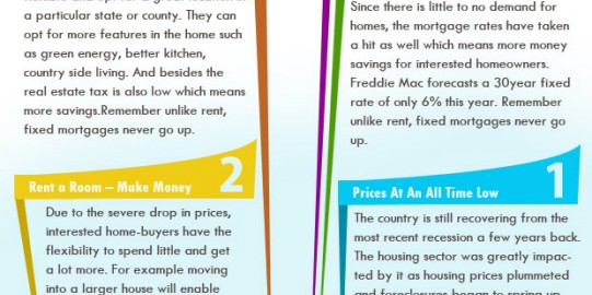 Infographics for real estate firm